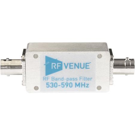 RF Venue BPF530T590 Band-pass Filter 530-590 Mhz