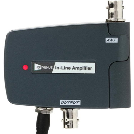 RF Venue ILAMP-ACT Inline 10dB Wireless Microphone RF Amplifier