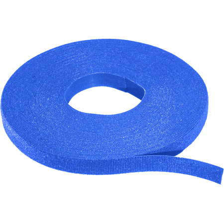 Rip-Tie W-75-1RL 1/2 Inch WrapStrap - Blue - 75 Foot