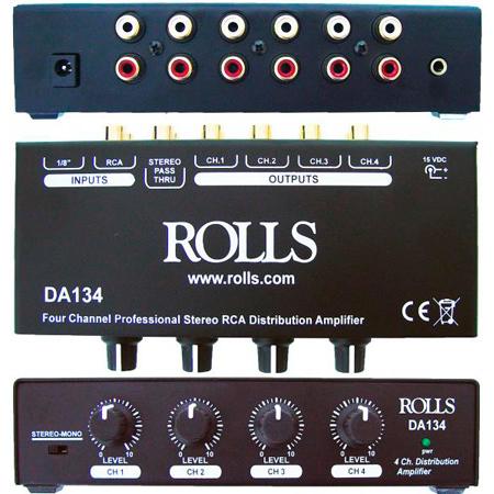 Rolls DA134 4 Channel RCA Distribution Amp