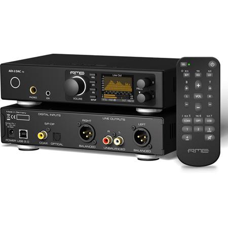 RME ADI2DACFS Ultra-Fidelity PCM/DSD 768 kHz DA Converter