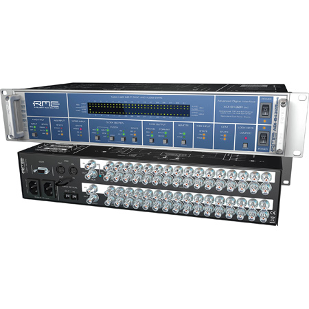 RME ADI6432 R BNC MULTI 19 Inch 2U 24 Bit / 192kHz 2x 64-channel MADI AES Converter with Redundant PSU