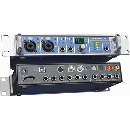 RME FireFace UC 36-Channel 24-Bit/192kHz USB Audio Interface