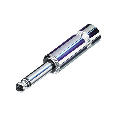 Rean NYS224L Jumbo 1/4 Inch 2-Pole Plug