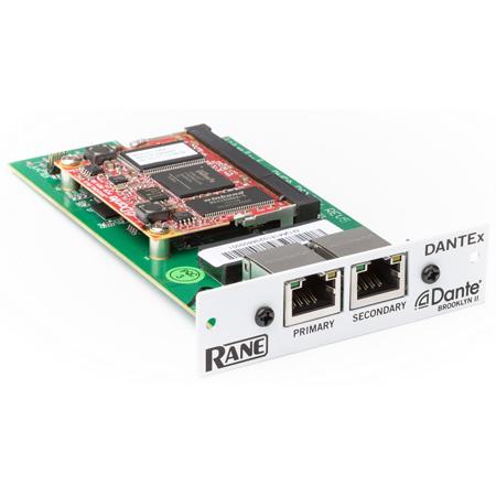 Rane DANTEx Plug-in Dante Expansion Card for Terminal 1010x