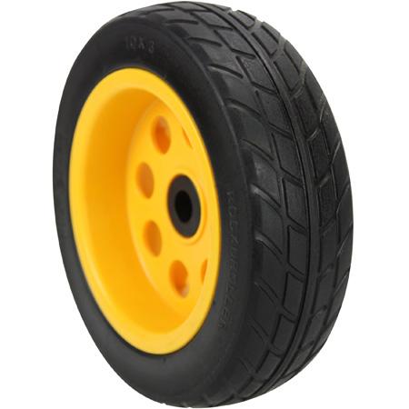 RocknRoller RWHLO10X3 R-Trac Rear Wheel 2-Pack 10 x 3 Inch No-Flat (Pair of wheels for R10 /  R12 & R18) Offset Hub
