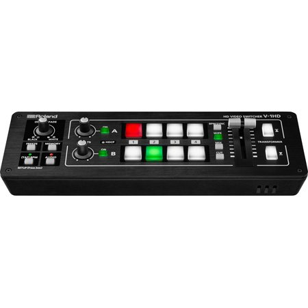 Roland V-1HD Portable Compact Live HD Video Mixer & HDMI Production Switcher