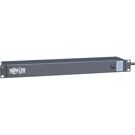 Tripplite RS-0615-R 1RU Rackmount Power Strip with 6 Rear Facing Outlets and 15ft Cord