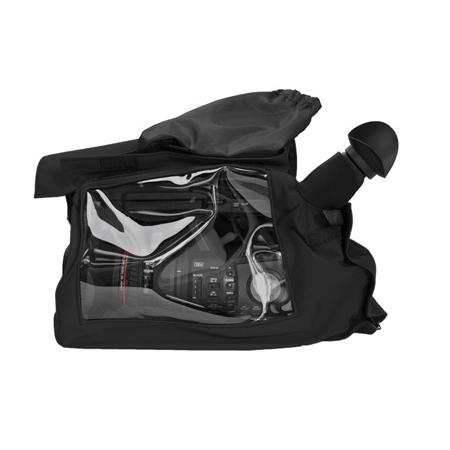 PortaBrace RS-EXRXFB Canon XF-305 & Sony PMW-EX1 Rain Slicker Black