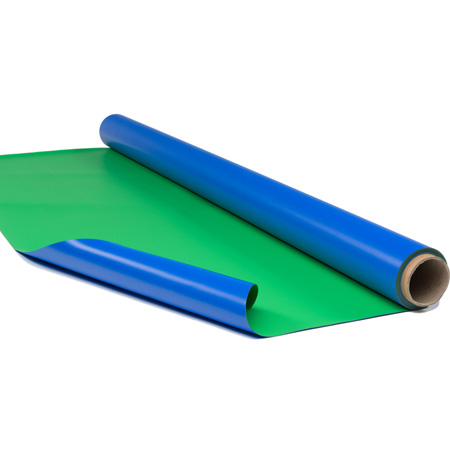 Rosco 3005872663XX Blue/Green Chroma Floor 63 Inch width - Per Linear Foot