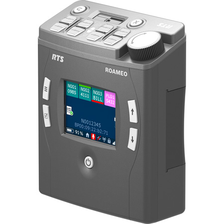 RTS TR-1800 ROAMEO 4-Channel Dect-Based Wireless Beltpack
