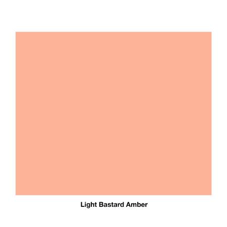 Rosco R01 Gel Sheet - Light Bastard Amber