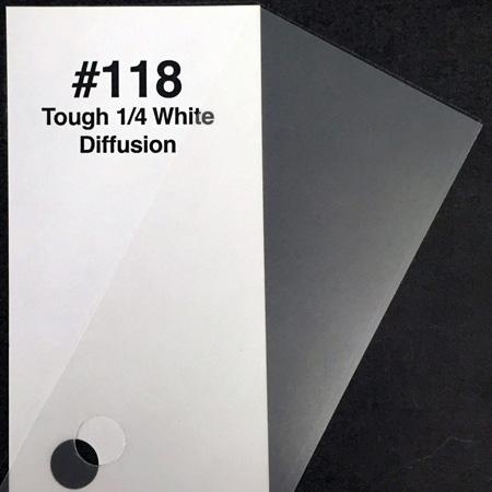 Rosco RX118 Tough 1/4 White Diffusion Sheet