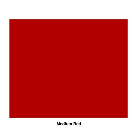Rosco R27 Gel Sheet - Medium Red