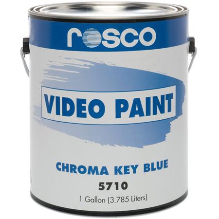 Rosco 150057100128 Chroma Key Blue Screen Paint 1 Gallon