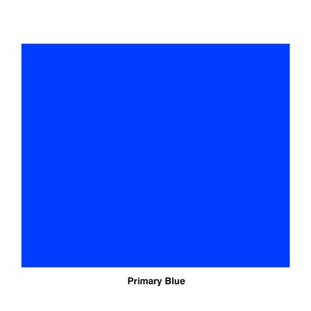 Rosco R80 Gel Sheet - Primary Blue