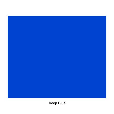 Rosco R85 Gel Sheet - Deep Blue