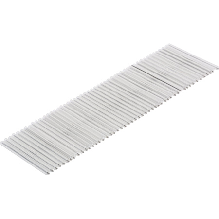 34mm for 900 Micron Fiber Optic Fusion Splice Sleeves - 50 Pack
