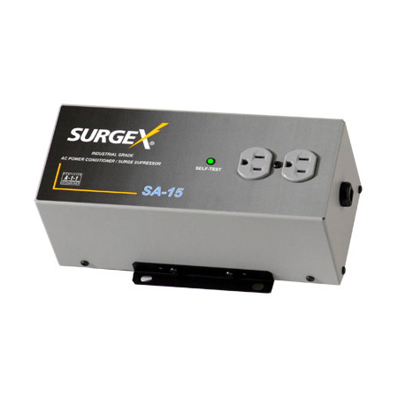 SurgeX SA15 Surge Eliminator & Power Conditioner 15 Amps at 120 Volts