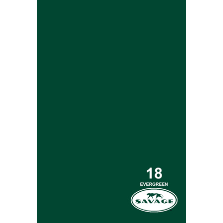 Savage 18-12 - Seamless Paper - 107in x 12Yds - Evergreen