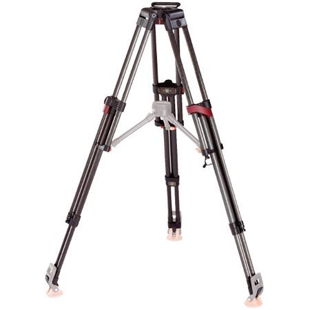 Sachtler 5590 Speed-Lock CF HD Carbon Fiber 2-Stage Heavy-Duty Tripod Legs (100mm Bowl) - Supports 209 lbs