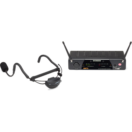 Samson SW7A7SQE-K1 AirLine 77 Wireless System Qe Fitness Headset (AH7-Qe/CR77) - Frequency K1 (489.050MHz)