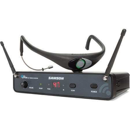 Samson SWC88XAH8-K Airline 88x AH8 Headset Wireless Microphone System - K Band - 470-494 MHz