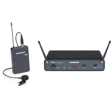 Samson SWC88XBLM5-K Concert 88x Wireless Lavalier System with LM5 Lav mic (CB88/CR88x) - K Band