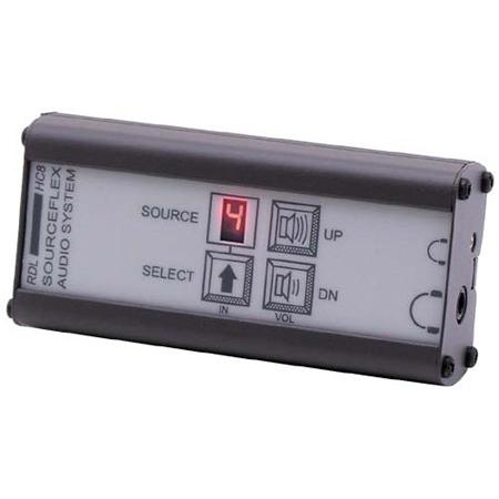RDL SAS-HC8 Headphone Amplifier with Source Selection