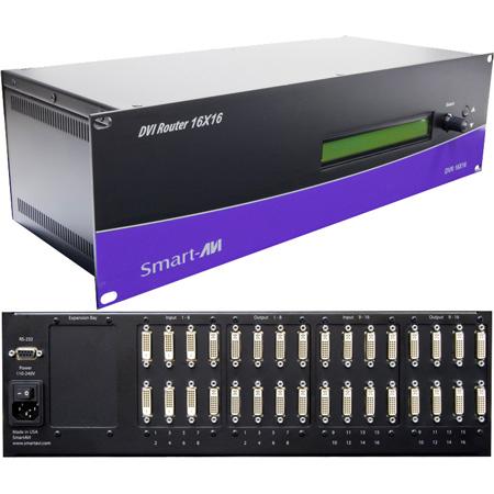 Smart AVI DVR16X16S DVI-D 16x16 Matrix Switcher / Router