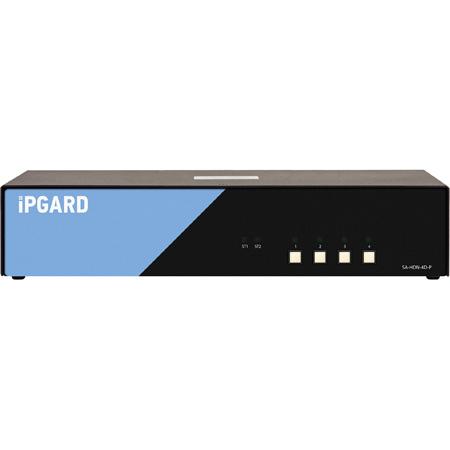 SmartAVI SA-HDN-4D-P 4-Port DH Secure DisplayPort/HDMI KVM with Audio and CAC