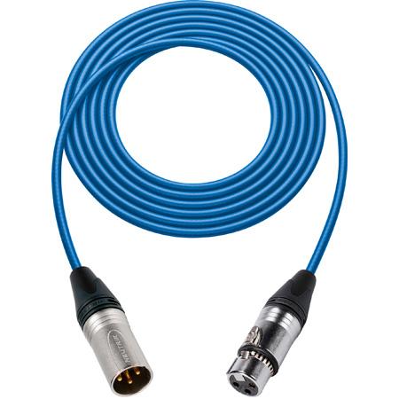 Sescom SC3DXXJ Digital Audio Cable Canare RF-Protected 3-Pin XLR Male to RF-Protected 3-Pin XLR Female - 3 Foot