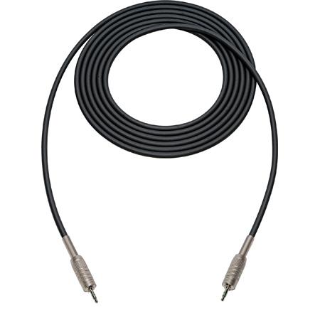 Sescom SC3MZMZ Audio Cable Canare Star-Quad 3.5mm TRS Balanced Male to 3.5mm TRS Balanced Male Black - 3 Foot