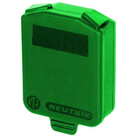 Neutrik SCDX-5 D-size Hinged Cover (Green)