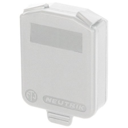 Neutrik SCDX-9 D-size Hinged Cover (White)