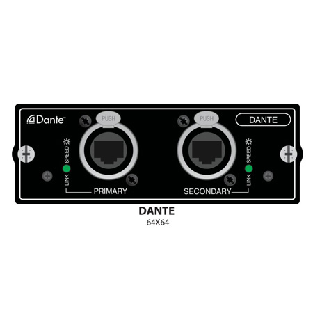 Soundcraft 5031819 SI Expression Dante Card