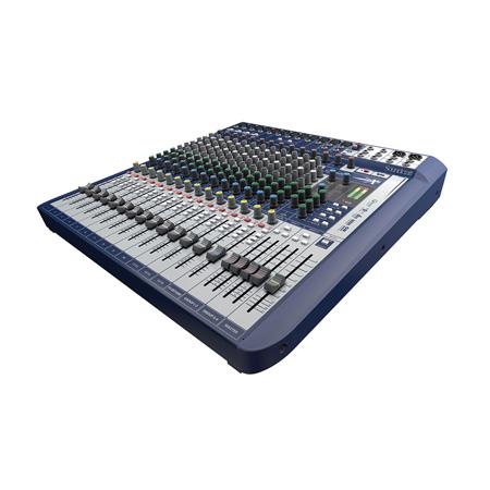 Soundcraft Signature 16 16-Input Compact Analogue Mixer