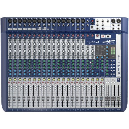 Soundcraft Signature 22 22-Input Analogue Audio Mixer