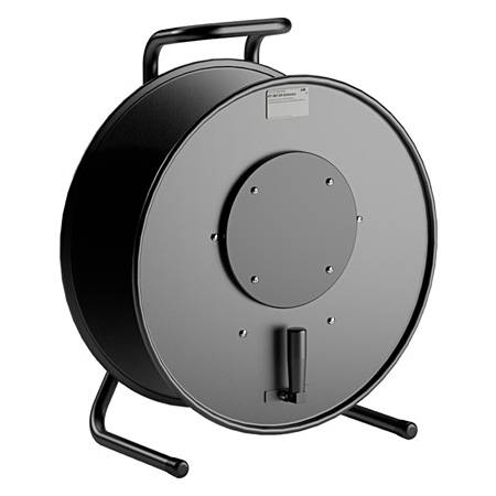 Schill HT481.SO Cable Drum Made of Sheet Metal with Blind Cover - Black