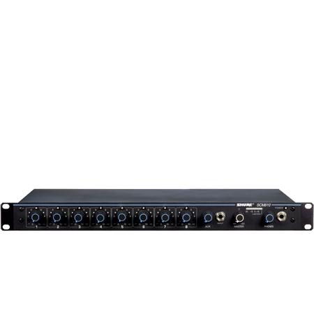 Shure SCM810 Eight Channel Microphone Mixer / AutoMixer