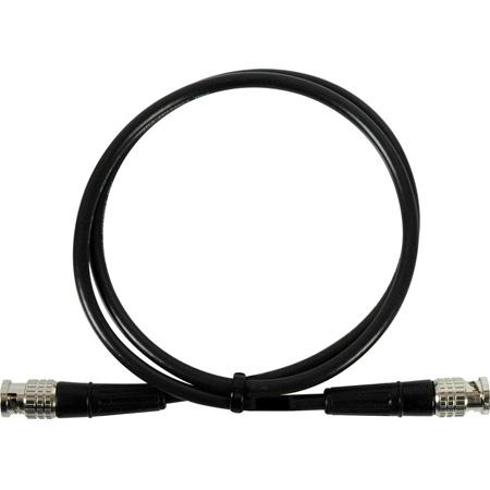 Laird SD59-BB25 Premium Canare L-3CFW HD-Serial Digital SMPTE 292M/294M/424M BNC Cable - 25 Foot Black