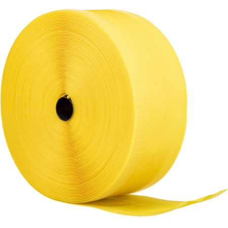 Secure Cord ASC5B 4 Inch x 82 Foot Trimmable Cord Ducting For Carpeted Surfaces - Yellow
