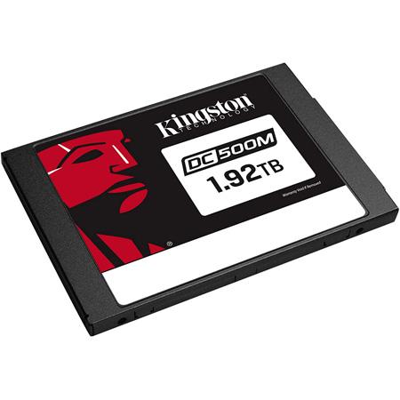 Kingston SEDC500M/1920G DC500M Enterprise Solid-State Drive - 555 MB/s Maximum Read Transfer Rate - 1.92TB