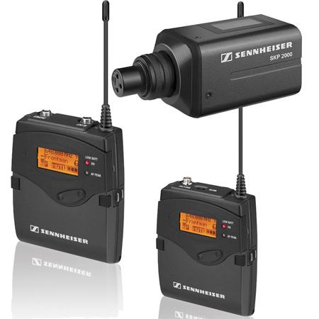 Sennheiser 2000ENGCOMBO-A ENG Plug-On /Bodypack Wireless (No Mic) - 516-558MHz