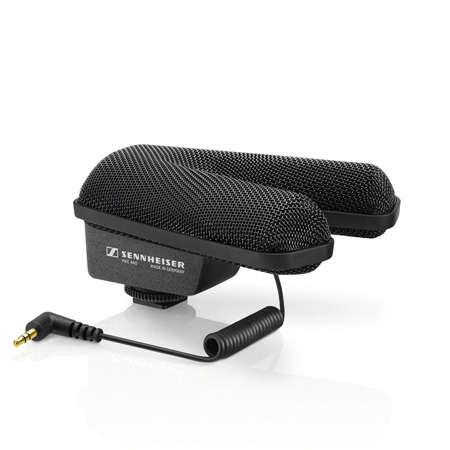 Sennheiser MKE 440 Compact Stereo Shotgun Microphone with 3.5MM Connector