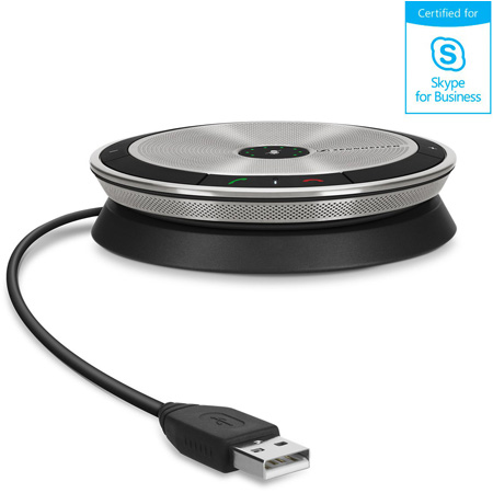 Sennheiser SP 10 ML Portable Speakerphone for UC Applications - Certified for Microsoft Lync