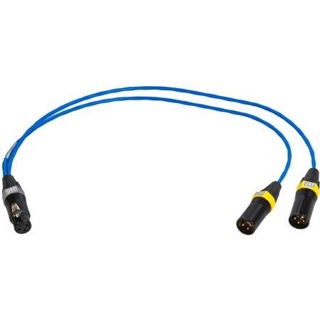 Sescom SES-AES-EBU-Y-2 Impedance Matching AES/EBU Y Splitter Cable - 2 Foot