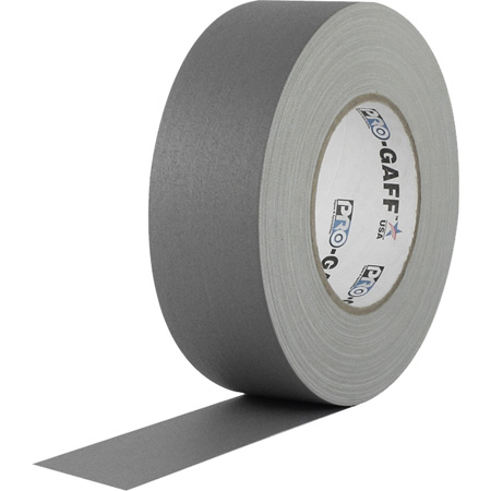 Pro Tapes 001UPCG255MGRY Pro Gaff Gaffers Tape SGT-60 2 Inch x 55 Yards - Gray