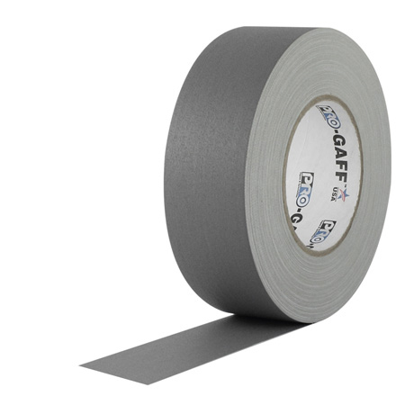 Pro Tapes 001UPCG355MGRY Pro Gaff Gaffers Tape SGT3-60 3 Inch x 55 Yards - Gray