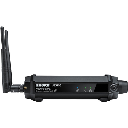Shure AD610 Axient Digital ShowLink 2.4GHz Wireless Access Point - No Power Supply